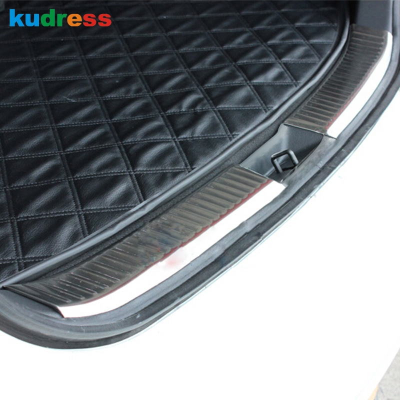 For Mazda CX7 CX 7 2007 2008 2009 2010 2011 steel Inner Rear bumper Protector Sill Pad Step Protection Trim Accessories|rear bumper protector sill|rear bumper protector|sill protectors - title=