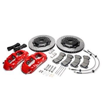 Mattox Car Racing Brake Kit 6POT Piston Caliper 405*34mm Disc Front Brake Rotor for BMW E53 2005 Front Wheel 20 inch