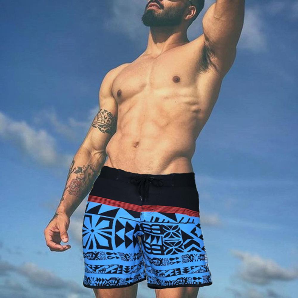 Rigg-pants Mens Comfortable Hawaii Surfing Hip-Hop Cool Beach Shorts Swim Trunks Board Shorts