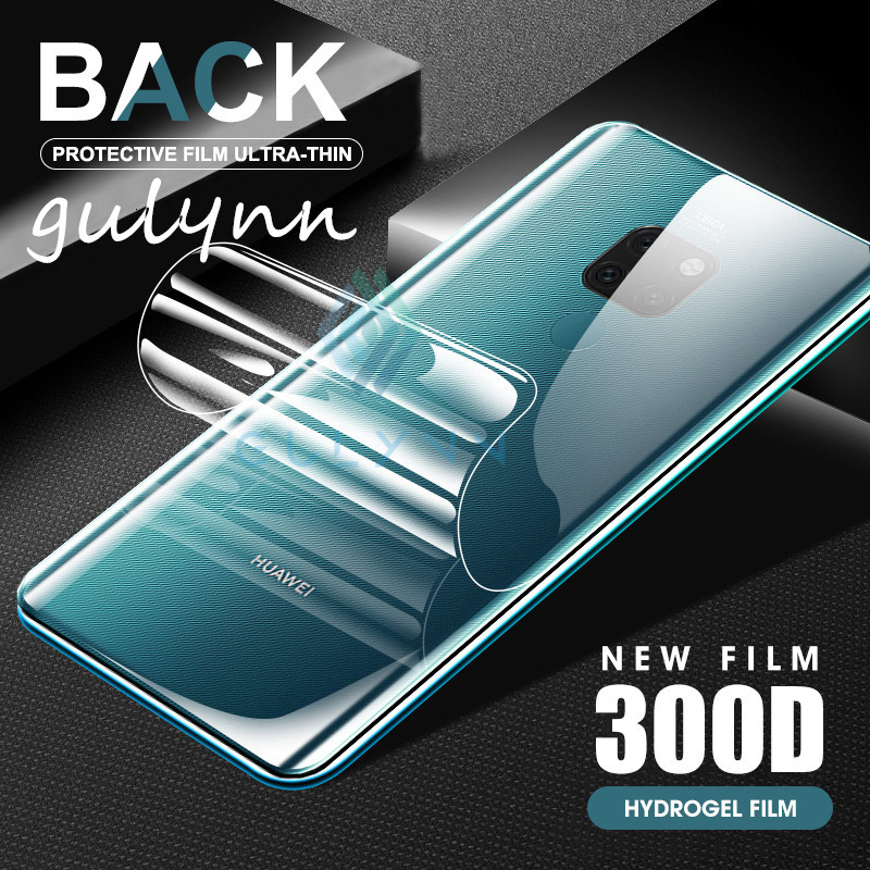 <font><b>300D</b></font> Back Real Hydrogel Film For Huawei Nova 5i 5T 4E 3i 3E Screen Protector For Mate 30 20 Lite Pro Protective Soft Film Cover image