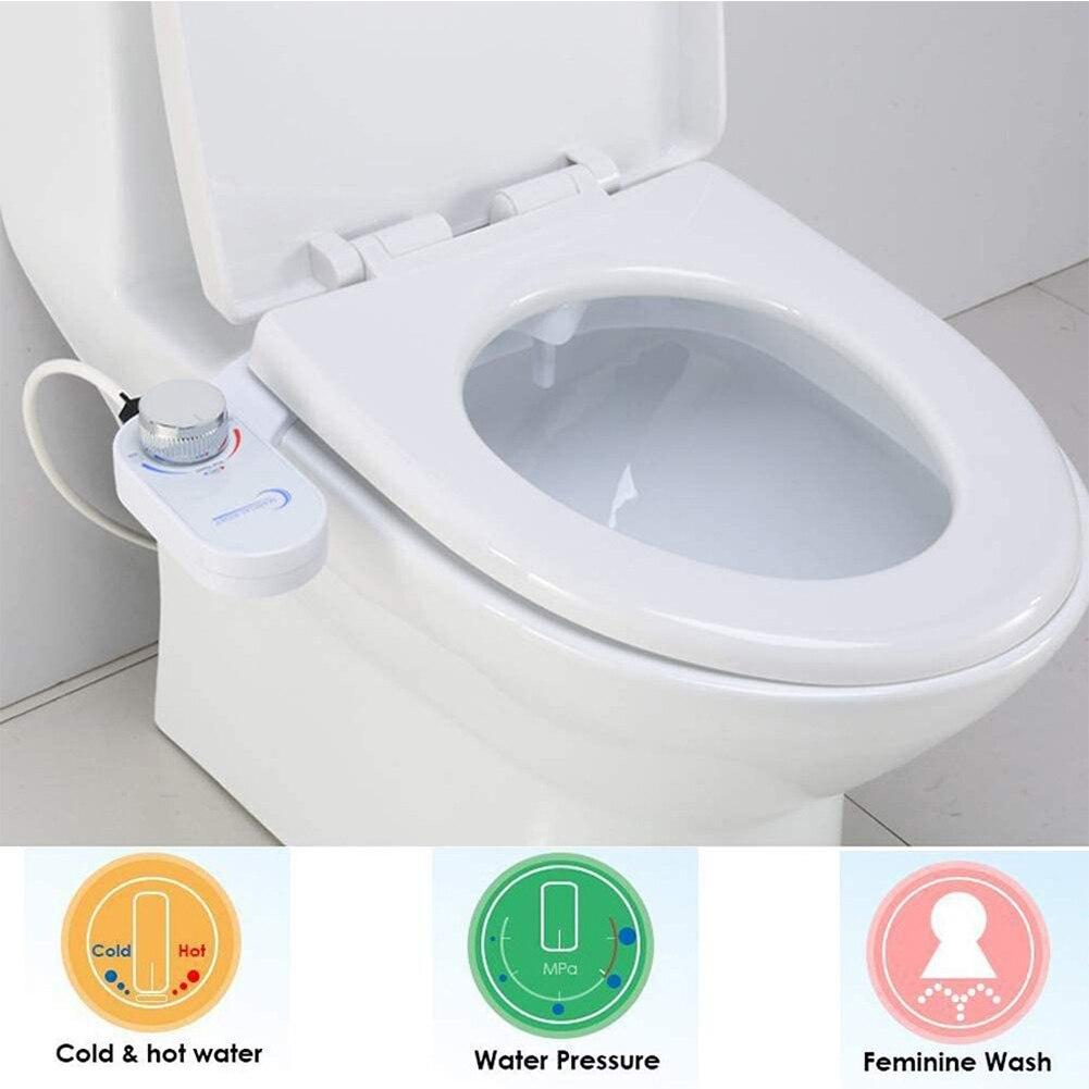 Pour salle de bain - non-électrique bidet toilette bidet siège de