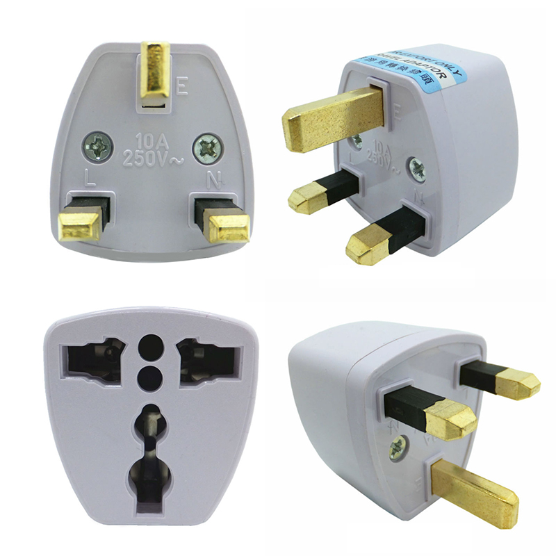 Universal World Charger BS Plug All-in-one Travel AC Power Adapter British Standard Converter Wall Socket Outlet Uk