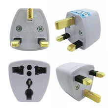Universele Wereld Oplader BS Plug All-in-one Travel AC Power Adapter Britse Norm Converter wandcontactdoos uk(China)