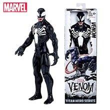 Action-Figure Doll Venom-Toys Avenger Hero-Series Pvc Marvel 30cm Titan for Kids Christmas-Gift