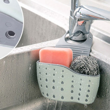 Basket Sink-Holder Storage-Tools Utensils Kitchen-Accessory Hanging Bath Portable