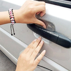 4pcs universal Invisible Car Door Handle Scratches Automobile Shakes Protective Vinyl Protector Films car Handle Protective