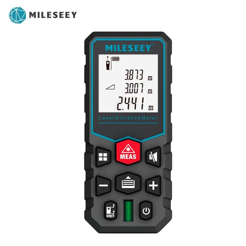 Mileseey X5 новая модель лазерный дальномер лазерный измеритель расстояния Измеритель высоты измерительный прибор лазерный измеритель расстоя...