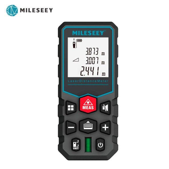 Mileseey X5 جديد نموذج الليزر Rangefinder أداة الليزر جهاز قياس المسافات متر ارتفاع أداة قياس ليزر جهاز قياس المسافات