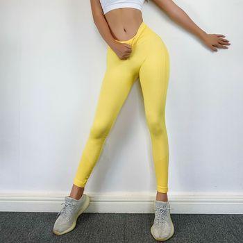 RUUHEE Seamless Legging Yoga Pants Sports Clothing Solid High Waist Full Length Workout Leggings for Fittness Yoga Leggings 25