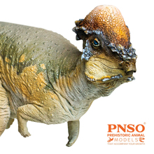 IN STOCK! PNSO Pachycephalosaurus Austin Figure Stygimoloch Pachycephalosauridae Dinosaur Model Collector Animal Adult Toy Gift