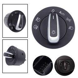 1 Pcs Car Headlight Switch Built-in Auto Light Sensor For Golf Jetta MK5 MK6 GTI Passat B6 B7 CC Touran Tiguan 5ND 941 431 B