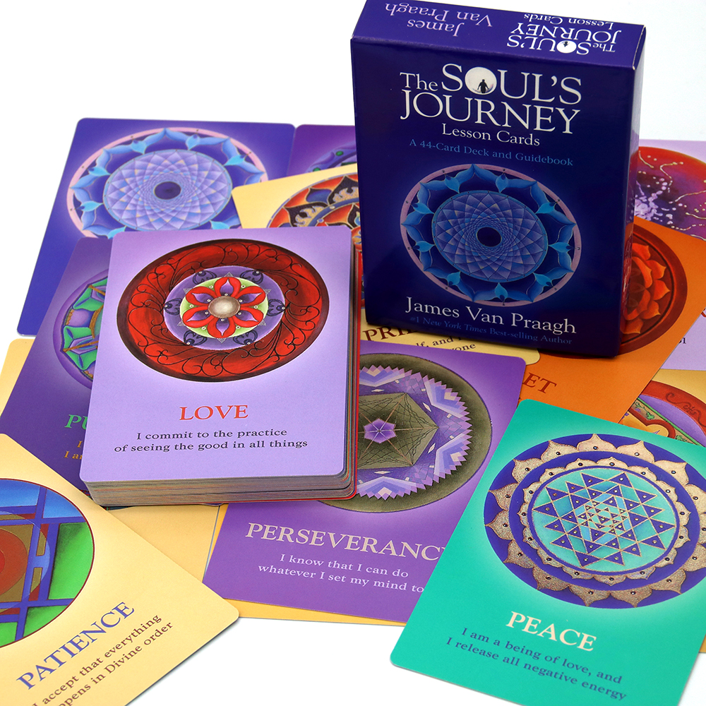 The Soul's Journey Lesson Cards: A 44-Card Deck And Guidebook Cards Spirit Communication And Counseling Optimal Growth And Soul