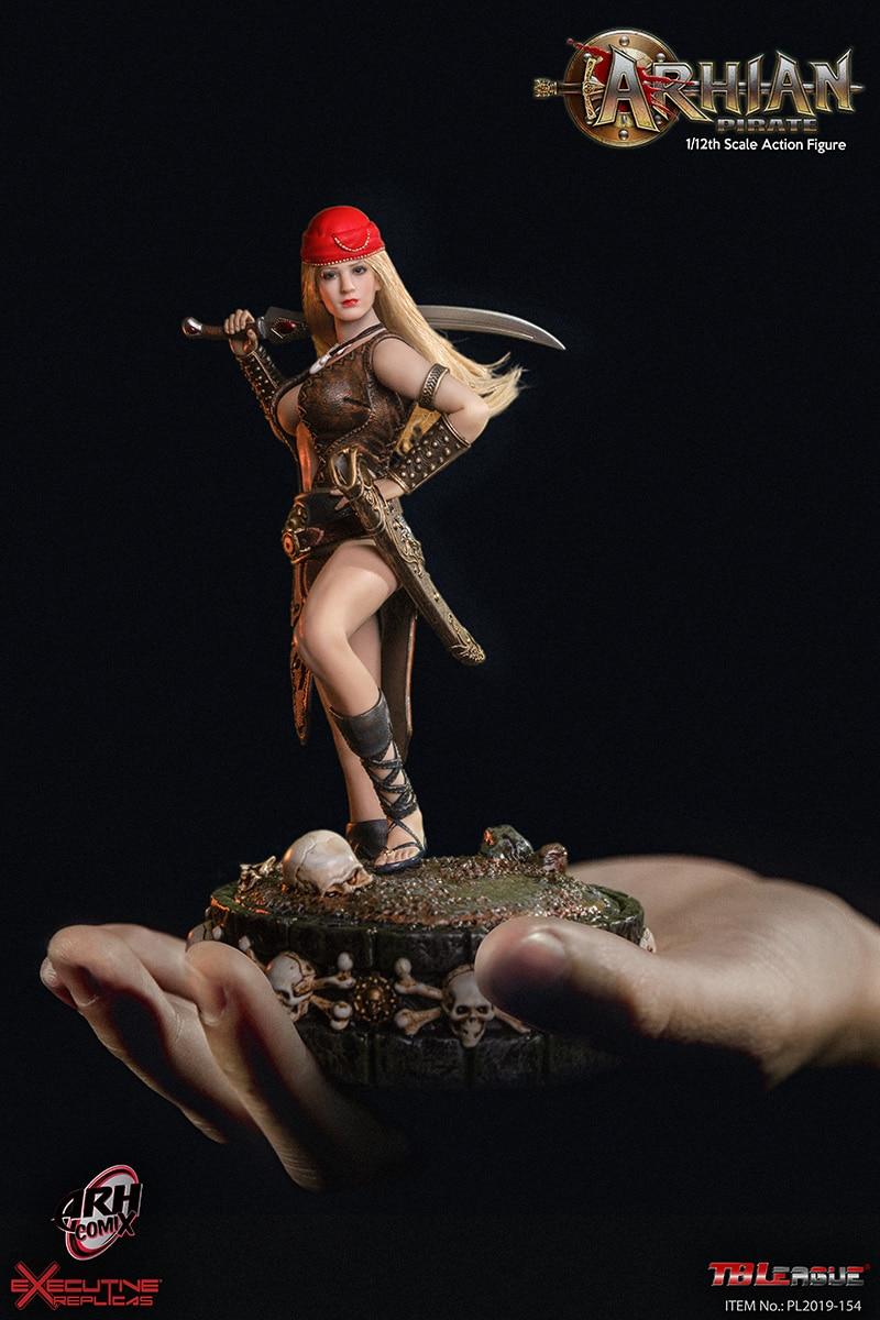 TBLeague Phicen Seamless Female Body Arhian Pirate 1//12 FIGURE