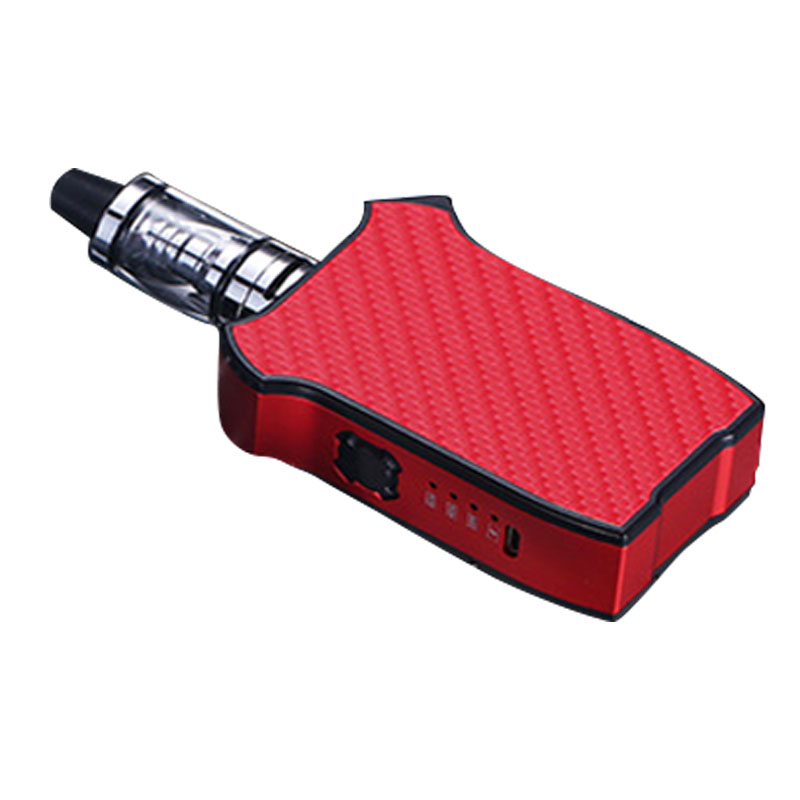 80w Electronic Cigarette 2200mAh Built-in Battery Vape With 3.5ml Tank Nebulizer Hookah Vape Pen Kit(red)