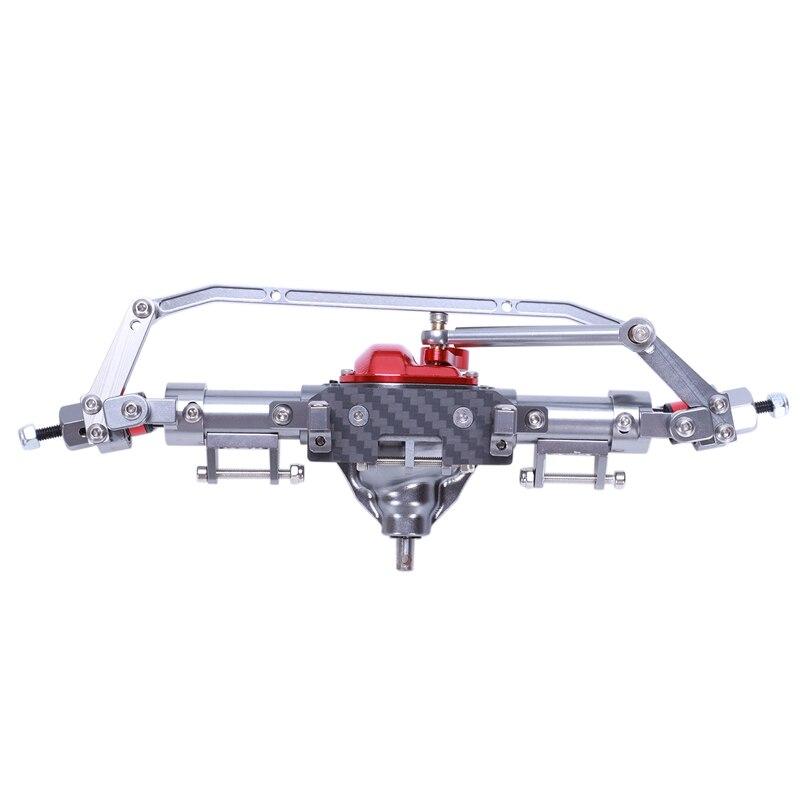 RC Axle Alloy Straight Axle For 1/10 RC Crawler Car Axial SCX10 90046 90047 Upgrade Parts Titanium
