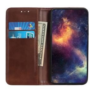 Image 3 - Telefon Fall für OPPO A9 2020 Fall Abdeckung Luxus Rindsleder PU Leder Magnetische Filp Buch Coque für OPPO A5 A9 2020 karte Slot Fällen