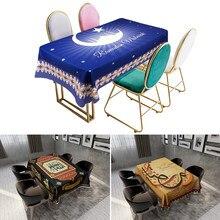 Nappe décorative Eid Mubarak pour fêtes musulmanes islamiques, décor pour Ramadan et Eid Kareem, cadeaux joyeux Eid Al Adha