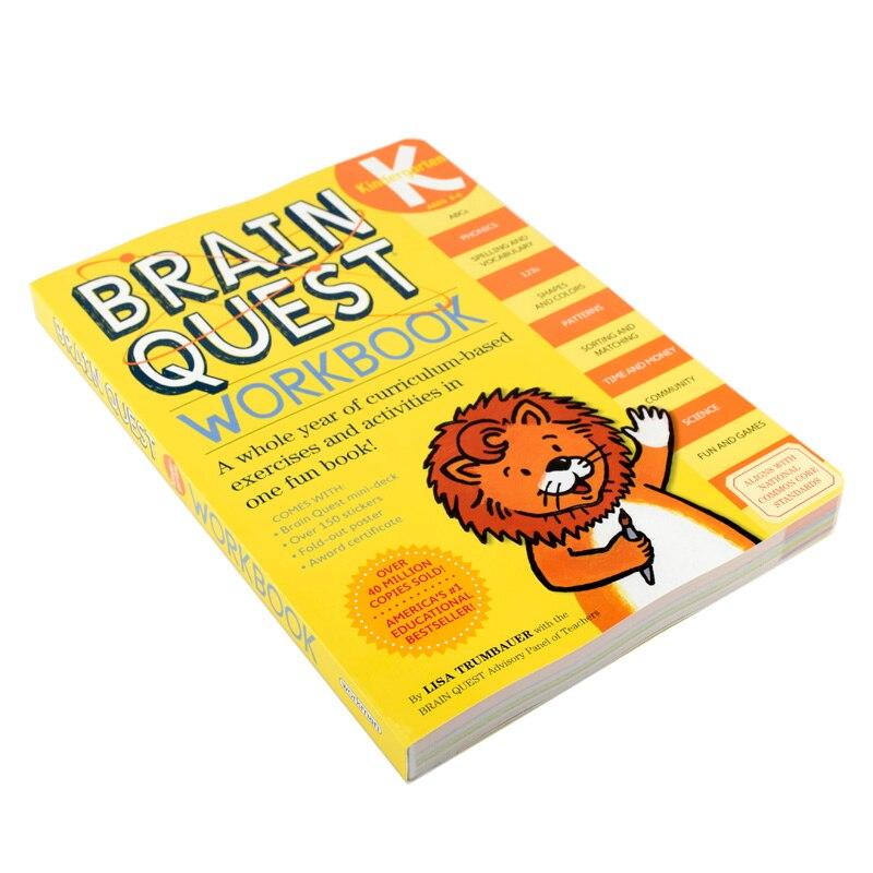 Cérebro busca workbook jardim de infância crianças