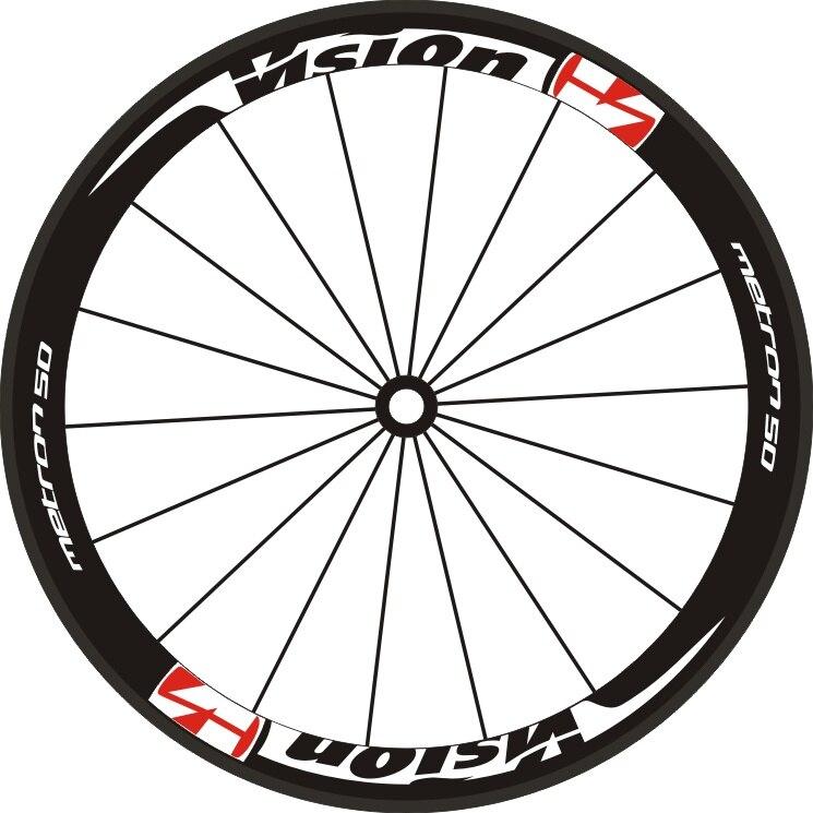 Ddecalques para 2 rodas/conjunto bicicleta de estrada 700c 40 50 55 aro profundo rodas adesivos aro corrida conjunto roda adesivos decalques da bicicleta adesivos roda