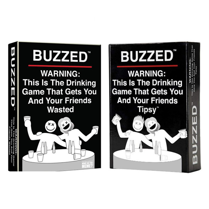 Buzzed board games Zumbado - this is the drinking party game that makes you and your drunk friends! Board game card image