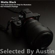 מצלמה עור משמר מדבקות מגן מט שחור עבור Sony A7R4 7R VI A9M2 אלפא 9 השני נגד שריטות לעטוף סרט מדבקת כיסוי