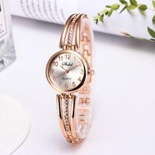 Women Fashion Bracelet Watch Simple Artificial Diamond Electronic Wristwatch Ladies Quartz Watches fashion women watch inbuilt artificial diamond leather strap quartz wristwatch