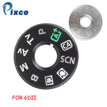 цена на Pixco 6DII Top Cover Button Mode Dial For Canon FOR EOS 6D Mark II 6D2 6DII  Camera Repair Part Unit
