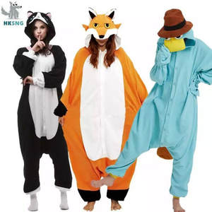 HKSNG Pokemon Pajamas Onesies Christmas Adult Jumpsuits Hooded Cartoon-Costumes Animal