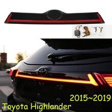 Kluger dinamik araba tampon kuyruk ışık Highlander için arka lambası LED araba aksesuarları Taillamp highlander için arka ışık sis