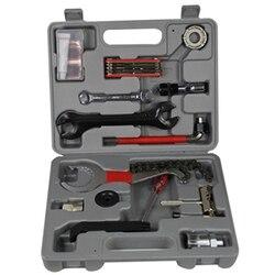 25 sztuk/zestaw Mountain Bike Patchs narzędzia do pracy na zewnątrz naprawa akcesoriów rowerowych rower wielofunkcyjny klucz kombinowany/Repair Tool
