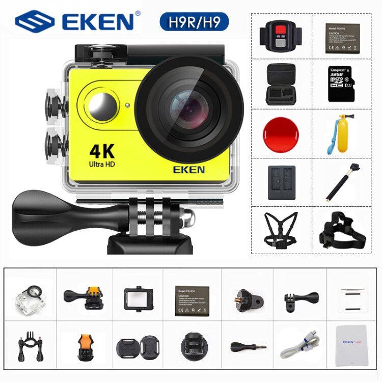 Action Camera 4K/30FPS 1080p/60fps 20MP Ultra HD  Mini Helmet Cam WiFi Waterproof Sports Camera From EKEN H9 H9R-0