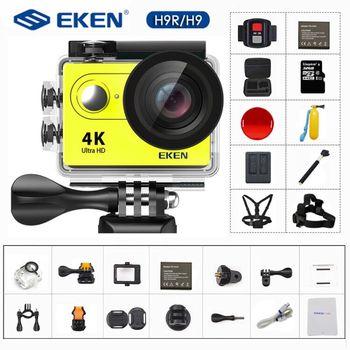Action Camera 4K/30FPS 1080p/60fps 20MP Ultra HD  Mini Helmet Cam WiFi Waterproof Sports Camera From EKEN H9 H9R