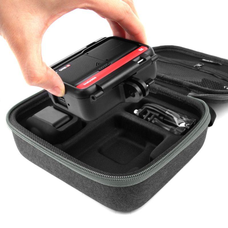 Портативный противоударный жесткий чехол для хранения EVA Дорожный Чехол для Insta360 ONE R аксессуары