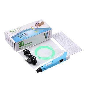 Image 5 - 3D Printing Pen Digital Display Intelligent 3D Pen High Temperature 3D Graffiti Painting Pens with USB Educational Toys Gift