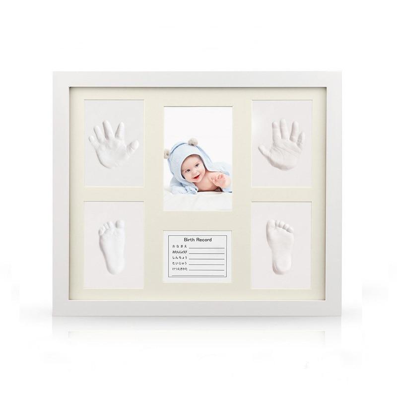 Non Toxic Newborn Handprint Footprint Baby Souvenirs Casting Imprint Kit Infant Footprint Ink Pad Foot Print Pad Baby Care
