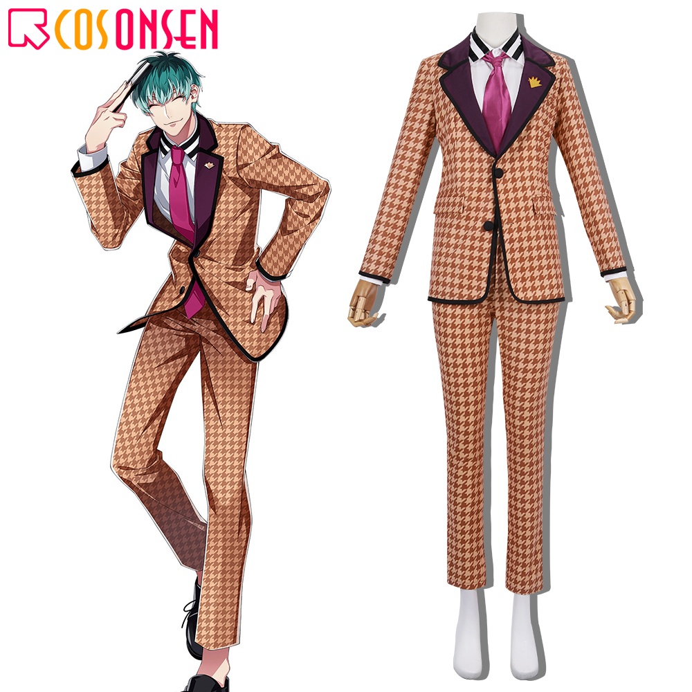 Division Rap Battle Tragic Comedy Cosplay Sasara Nurude Costume Osaka Division New Suit Hypnosis Mic COSPLAYONSEN Custom Made