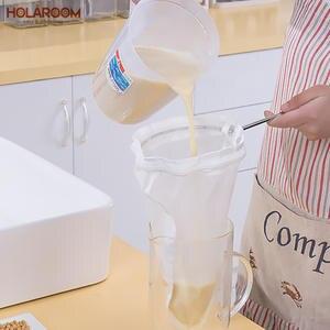 Holaroom FILTER-BAG Food-Strainer Soybean Milk-Juice Fine Mesh Coffee Multifunctional
