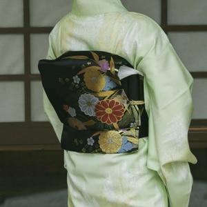 Cinturón con estampado floral, Kimono Original, accesorios de estilo japonés, hecho a mano, 2019