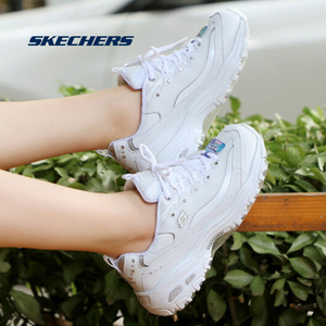 Image 5 - Skechers Giày Người Phụ Nữ Giày Nền Tảng Chun Thời Trang Nữ Lưu Hóa Thoáng Khí Giày Nữ 11979 WSL