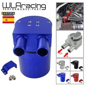 Image 1 - WLR RACING Универсальный Масляный бак из алюминиевого сплава для BMW N54 335, черный, серебристый, красный, синий, WLR TK60