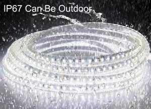Image 5 - Satılık 2020 yeni 5m 5 yıl garanti beyaz yüksek CRI 95 LED şerit ışık DC 12V 2835 LED sıcak beyaz doğa beyaz
