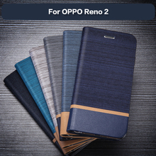 PU Leather Wallet Case For OPPO Reno 2 B