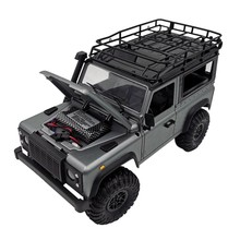 2,4G Maßstab 1:12 MN99S Buggy Vier-rad Drive RC Rock Crawler Auto Off-road Auto Q6PD