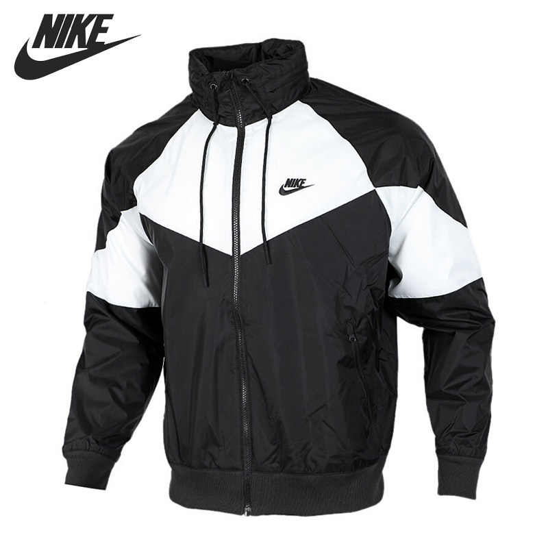 US $72.08 18% OFF|Original New Arrival 2018 NIKE NSW HOODIE AIR FZ FLC Men's Jacket Hooded Sportswear in Running Jackets from Sports & Entertainment
