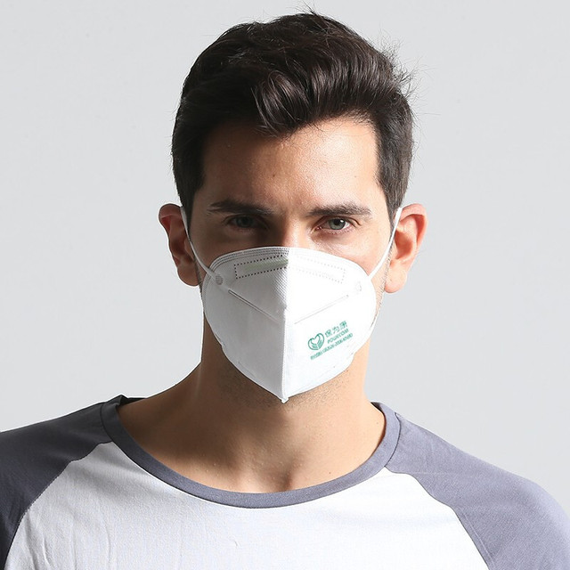 10Pcs/Lot 6 Layers KN95 Face Masks 95% Filtration KN95 Masks Features 3D Mask Flu Anti Infection Virus Bacterial Adult Face Mask 1