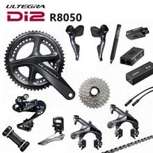 Shimano Di2 Ultegra R8050 R9070 50/34T 53/59T 165/170/172.5/175mm 2*11 Speed Road Bike Bicycle Groupset Update R8000