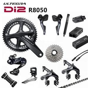 Image 1 - Shimano Di2 Ultegra R8050 R9070 50/34T 53/59T 165/170/172.5/175mm 2*11 Speed Road Bike Bicycle Groupset Update R8000