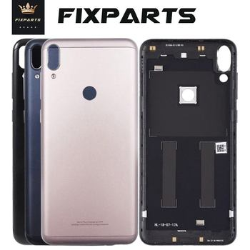 New ZB601KL Back Battery Cover For ASUS ZenFone Max Pro M1 ZB602KL Battery Back Case Door Rear Housing Black Replacement Parts
