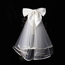 Свадебная Фата с расческой Свадебные белые свадебная вуаль свадебные