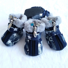Pet Supplies Cute Dog Boots Warm Breathable Pet Snow Boots Pet Shoes For Small Medium Dogs Lovely Safety Soft Puppy Sneakers